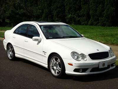 2005 Mercedes-Benz C-Class C55 AMG FULLY LOADED! 88K Mls! UNROOF NAVI LEATHER HEATED/MEMO SEATS COLD AC KEYLESS ENTRY CD-CHANGER C-55