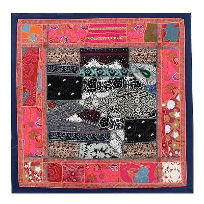 Vintage Tapestry Antique Art Indian Patchwork Wall Hanging Wedding Gift