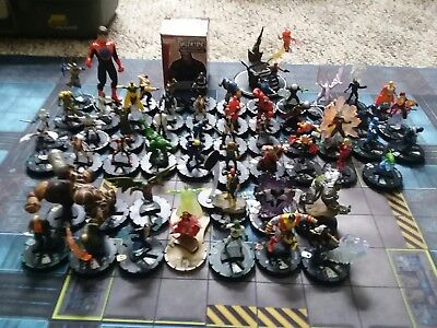 Heroclix Lot X-Men and more. Super Rares, Chases and Con Exclusive. Team Base!