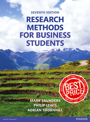 Research Methods for Business Students 7th Edition By Mark Saunders [PDF]