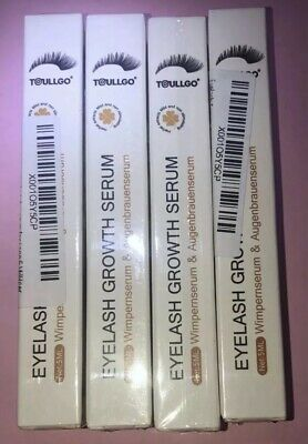 Lot 4 Toullgo Eyelash Enhancer Growth Serum 5mL NEW SEALED Grow Long Full Lashes