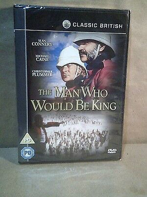 The Man Who Would Be King - Sean Connery - Michael Caine - UK DVD - New/Sealed