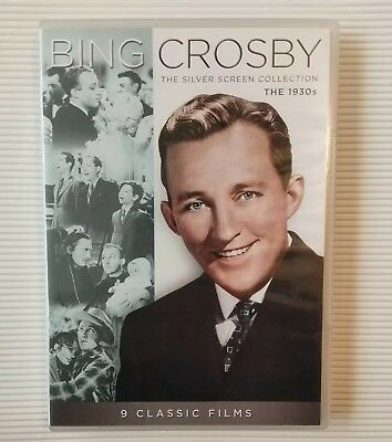 Bing Crosby: Silver Screen Collection - The 1930s-DVD- NICE !! (#30)