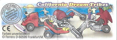 BPZ kinder California Dream Trikes Eagle Chrome 661147 Allemagne 1997