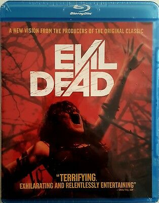 EVIL DEAD with SPECIAL FEATURES * 2013 * BLU-RAY * BRAND NEW FACTORY SEALED!
