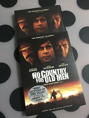 No Country For Old Men Dvd Region 1 Slip Case Coen Brothers Cult Cinema