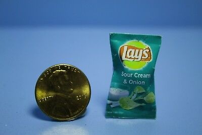Dollhouse Miniature Replica Bag of Fritos Chips ~ G148