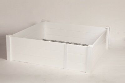 """Whelping Box 36""""x 36"""" w/Piggy Rails entry door and Rubber Liner Dog,Puppy,Pen,"""
