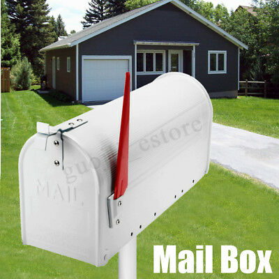 Mailbox with mail indicator Galvanized Steel Au Aluminum Letterbox Mail Box Us Style American Mailbox Indicator Red Flag Yaoota Au Aluminum Letterbox Mail Box Us Style American Mailbox Indicator