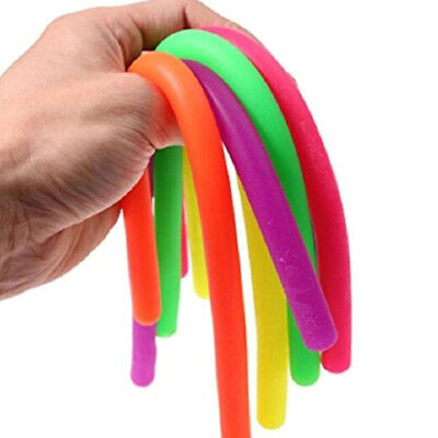 Stretchy string fidgets noodle autism/adhd/anxiety squeeze fidgets sensory toy3C
