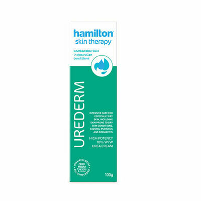 NEW Hamilton Skin Therapy Urederm Cream 100g Skin Care Cream