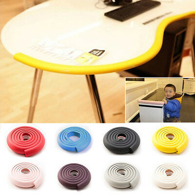 2M Baby Safety Table Edge Corner Protect Cushion Guard Strip Soft Bumper Useful