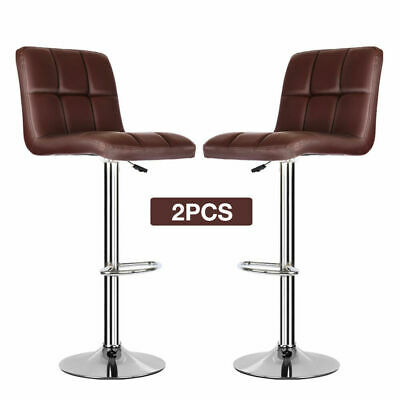 Super 2X Cream Pu Leather Breakfast Bar Stools Swivel Kitchen Pdpeps Interior Chair Design Pdpepsorg