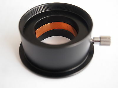 "New anodized aluminum Telescope Eyepiece 2"" to 1.25""  Adapter Thread"