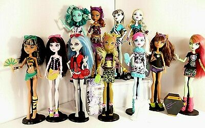 Monster High Dolls pick one or many you choose all in vgc no 7 aa