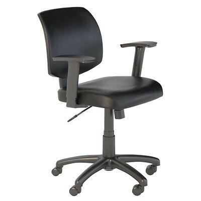 Bush Business Petite Leather Office Chair in Black