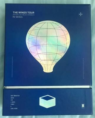 BTS 2017 The Wings Tour In Seoul DVD Live Trilogy Episode III SET W/O Photo Card
