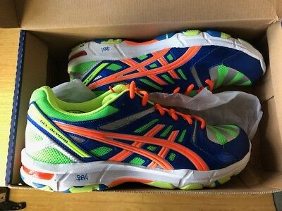 Asics Gel Beyond 4 UK 10.5 SQUASH BADMINGTON COURT SHOES Brand new Boxed