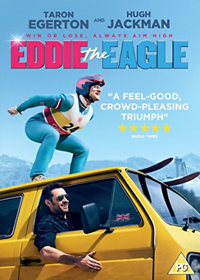 Eddie The Eagle Dvd Taron Egerton Brand New & Factory Sealed