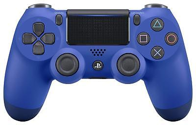 Sony PlayStation 4 Controller Wave Blue Dualshock 4 CUH-ZCT2J12 PS4 New