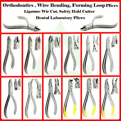 Orthodontic Pliers Dental Pliers Wire Bending Ortho Tooth Braces Surgical Pliers