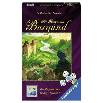 The Castles of Burgundy: The Dice Game (DEU) - Gioco da Tavolo Alea