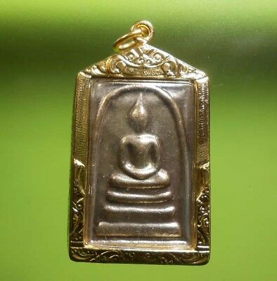 Perfect! Old Amulet Somdej Chinnabanchon Very Rare From Siam !!!