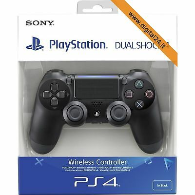 Controller Joypad Dualshock 4 Wireless Nero v2 - PlayStation 4 [ITA]