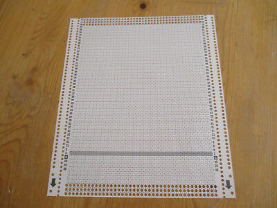 18 passap duomatic 80 punchcards 11 cards are lightly marked, 7 cards are blank