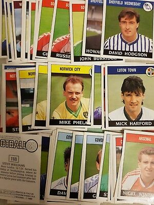Panini Football 89 Stickers - Complete Your Album - Special Offer