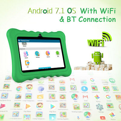 Ainol Q88 Android 7.1 IPS Screen Tablet PC WiFi 8GB WIFI For Kids Children Green