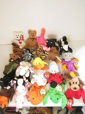 TY Beanie Babies - Lot of 25 Assorted Animals (Lot 4) 0dc25344169c