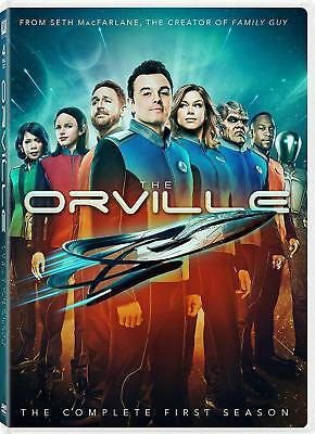 The Orville Season 1 Dvd Brand New Sealed The Complete First Season Macfarlane
