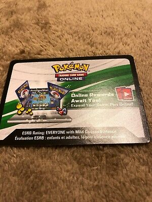 Verzamelingen kaartspellen x1 Pokemon PTCGO Pikachu & Eevee PokeBall Collection Code EMAILED IN MESSAGE