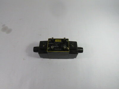 Parker D3W1CNYW4 Directional Control Valve 120V 60Hz 0.72A 1500PSI  USED
