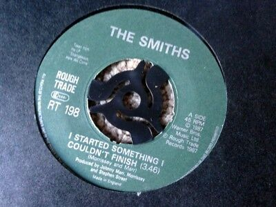 The Smiths – I Started Something I Couldn't Finish Vinyl Single  A-1 B-1