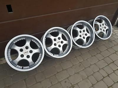"16"" DISHED alloys 5x100 vw golf IV bora polo 9N 6R octavia fabia audi a3 a2 a1"