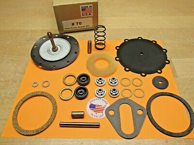 1937 To 1951 Packard Modern Double Action Fuel Pump Kit For Today's Fuels Usa