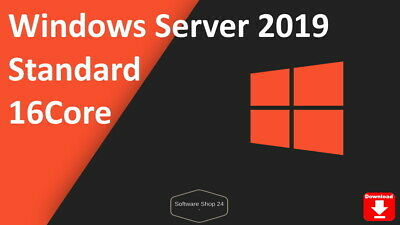 Microsoft Windows Server 2019 Standard 64bit Vollversion - Product Key Download