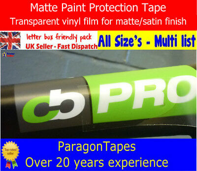 Helicopter Bike Frame Protection TapeStrong Clear Film by 3M in 1 foot widths