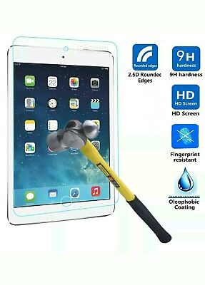 100% Genuine LCD Tempered Glass Screen Protector For Apple Ipad Mini 1,2,3