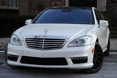 2013 Mercedes-Benz S-Class S 63 AMG 4dr Sedan 2013 Mercedes-Benz S-Class S 63 AMG  DESIGNO Automatic 7-Speed RWD V8 5.5L