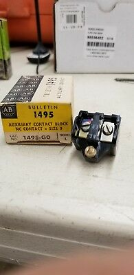 1495-G0 Allen Bradley Auxiliary Contact New