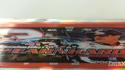 Galaxy DX 77 Dale Earnhart CB Radio Face Plate Decal