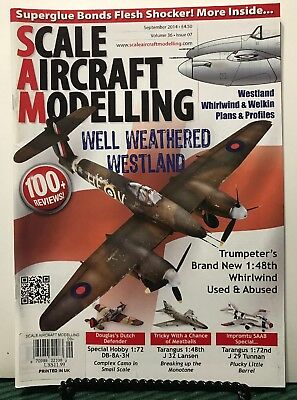 Scale Aircraft Modelling Well Weathered Westland Sep 2014 UK FREE SHIPPING JB