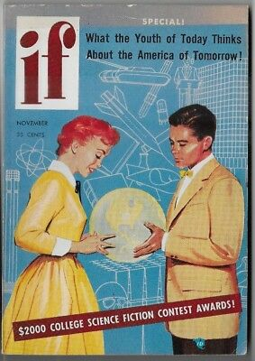 IF Worlds of Science Fiction November 1954