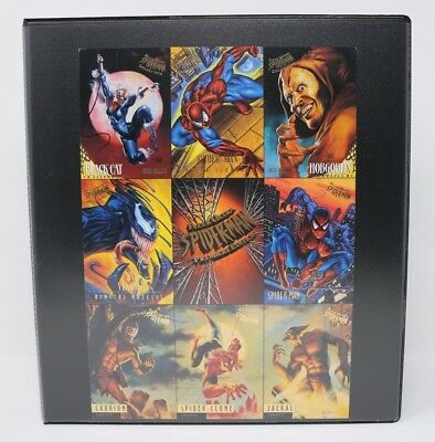 1995 Marvel Fleer Ultra Spider-Man Premiere Edition Complete Base Set VG/NM ++