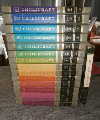 Childcraft Encyclopedias Volumes 1-15 + Annual, 1969, How and Why Library