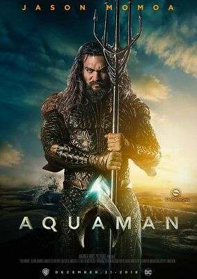 Aquaman Presale Digital Code Only, No Blu-ray Or Dvd 3/26/2019