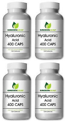 Hyaluronic Acid Now 1.1 Mill Dalton 400mg/200mg 1-4 Bottles 120-480 Capsule Food
